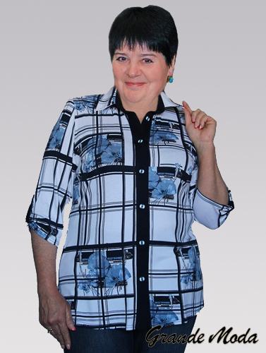 Какие блузки больших размеров бывают и с чем их носить?