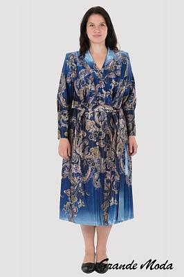 1fd33570d2c91 Женский халат большого размера в интернет магазине Grandemoda